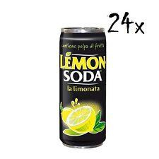 24x Dosen Lemonsoda 330 ml Campari Lemon soda Zitrone italienisch Limonata