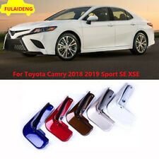For Toyota Camry Sport SE XSE 2018-2020 Painted Mud Flaps Splash Guards Mudguard