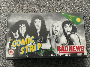 The Comic Strip Presents More Bad News VHS Rik Mayall Ade Edmondson