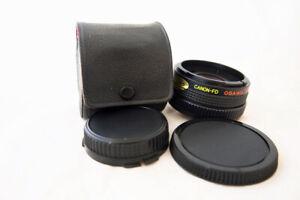 CANON FD Mount ....MC4 OSAWA 2x TELE Converter Lens