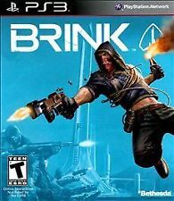 BRINK Sony PS3 Playstation 3 Brand New with Rare slip cover