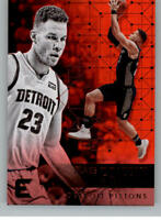 2017-18 Panini Essentials Red NBA Basketball Parallel Cards Pick From List