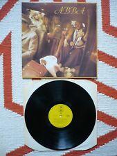 Abba Self Titled Vinyl UK 1975 Epic Yellow Label LP 1st Press A1/B1 Matrix EXC