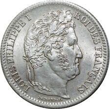 O1857 RARE 2 Francs Louis Philippe 1844 A Paris SPLENDIDE ->Make offer