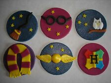 Harry Potter cupcake toppers x 6