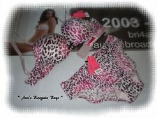 2e6aae7b8b6 Women s Size 70B-Push Up-Animal Print-Bra   Brief Set-Hot