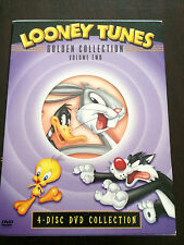 """Looney Tunes Golden Collection Vol.2 "" (4 Discs, Region 1, 320 Minutes) **VGC**"