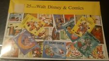 Walt Disney & Comics Stamps Used 25 Different Super great Condition In The.