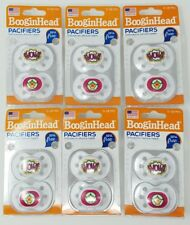 12 New BooginHead Pacifiers (6 -2 PACKS)  0-18 month  BPA FREE