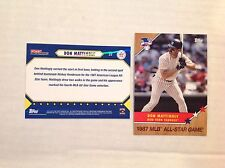 Don Mattingly #23 MVP Yankees 2017 TOPPS ON-DEMAND ALL-STAR GAME HOMAGE TO 1987
