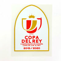 2019-20 Copa del Rey Player Issue Patch Spain for Shirt Jersey