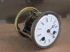 АNTIQUE FRENCH BRONZE MANTLE CLOCK MOVEMENT VINCENTI 1855-WORKS