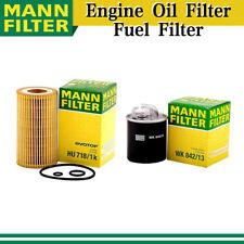 Mann Engine Oil Filter+Fuel Filter 2X for 03-06 Dodge Sprinter 2500 l5 2.7L AY17