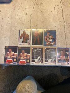 Muhammad Ali Sonny Liston Sugar Ray Leonard Card Lot 8