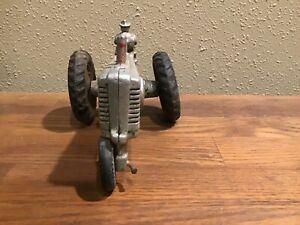 Antique John Deere Model A Tractor with Driver Cast Aluminum ERTL 1/20