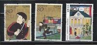 JAPAN 2011 PHILATELIC WEEK (140TH YEAR OF JAPAN POSTAL SERVICE) SET OF 3 STAMPS