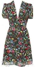 Topshop Short Sleeve Floral Tall Dresses for Women