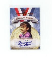 Leaf Sports Heroes 2013 #GG-DM1 Dominique Moceanu Autograph    Olympics
