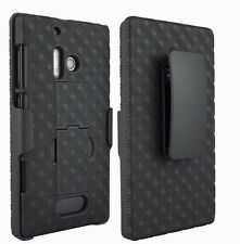 Genuine Verizon Kickstand Shell and Belt Clip Holster for Nokia Lumia 928
