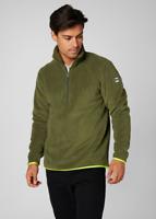 Helly Hansen Feather Pile 3/4 Zip Men's Fleece 51807/491 Ivy Green NEW
