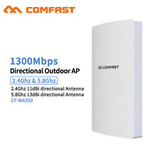 Wireless AP Access Point 1300Mbps Extender Booster Router 802.11 PoE Waterproof