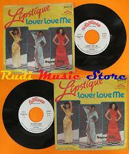LP 45 7''LIPSTIQUE Lover love me Anyone's baby 1979 italy LOLLIPOP cd mc dvd*vhs