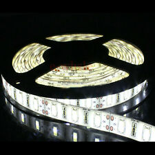 12V 5M 300Leds 5630 SMD Cool White Waterproof Led Strip Lights Lamp Ultra Bright