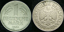 1954 Germany  1 Mark  D