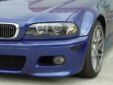 DEPO 2002-2006 BMW E46 M3 SMOKE SCREW-ON CORNER LIGHTS + CHROME AMBER BULBS