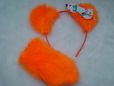 Care Bear Friend Bear Orange Ears & Stubby Tail With Care Bear Logo Bow