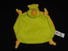 Happy People Nilpferd Hippo Schmusetuch grün 023 grün Neu