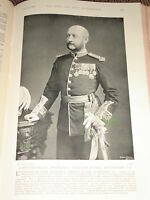 1898 Lieut General Friedrich William Traill Burroughs