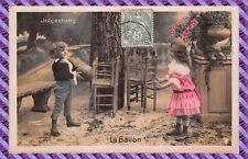 """Carte Postale """" STEBBING"""" - Jeux d'enfants - le ballon"""
