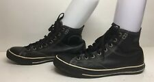 UNISEX CONVERSE ALL STAR SNEAKERS BLACK SHOES SIZE 10