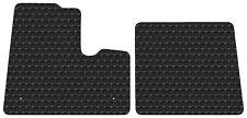 Black Rubbertite Floor Mats Fits All Kenworth T600 T800 W900 model to year 2000