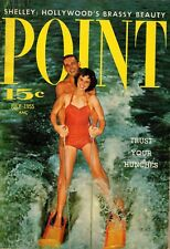 Point Pocket Sized Magazine Vintage 1955 Cover is Shelley Winters July 1955