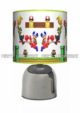 SUPER MARIO GAME ☆ BEDSIDE TOUCH LAMP ☆ BOYS NIGHT LIGHT ☆ MATCHES DUVET