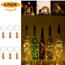 WW 20 LEDs Starry Fairy Lights Battery Powered for Bottle DIY Wine Bottles Cork