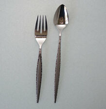 VENETIA Oneida Community Stainless Flatware 1 Salad Fork & 1 LONG TEASPOON