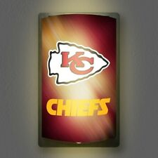 Kansas City Chiefs NFL Licensed MotiGlow™ Light Up Sign - Free USA shipping!