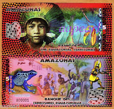 AMAZONAS Banknotes Collections 2014edition brand new Paper Money Uncirculated