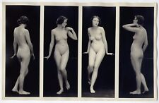 "1910s Vintage Albert Arthur Allen Nude The Female Figure Series 6"" x  11""  mod.6"