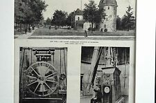 Rochester NY 1887 WARNER OBSERVATORY Astronomy Telescope Science Matted Print