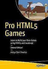 Pro HTML5 Games von Aditya Ravi Shankar (2017, Taschenbuch)