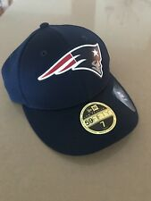 New England Patriots fitted ball cap, size 7