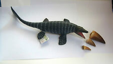 MOSASAUR MARINE DINOSAUR  3 FOSSIL TOOTH MODEL EDUCATIONAL COLLECTA Brand New