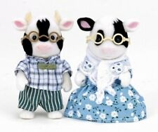 Sylvanian Families / Calico Critters Friesan Cow Grandparents