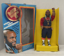 "Vintage 1983 Galoob MR. T A-Team Superhero B.A.Baracus 12"" Action Figure Doll"