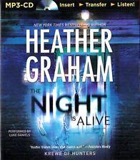 Heather GRAHAM / The NIGHT is ALIVE           [ Audiobook ]