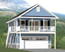 20x32 House -- 2 Bedroom -- 808 sqft -- PDF FloorPlan -- Model 6P
